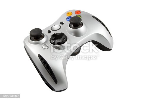 Gamepad isolated on white