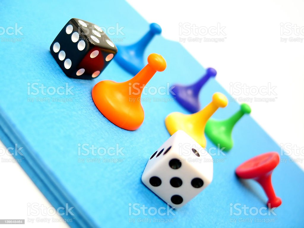 Game Pieces royalty-free stock photo