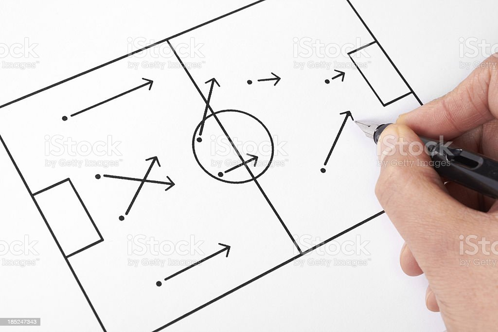 game plan royalty-free stock photo