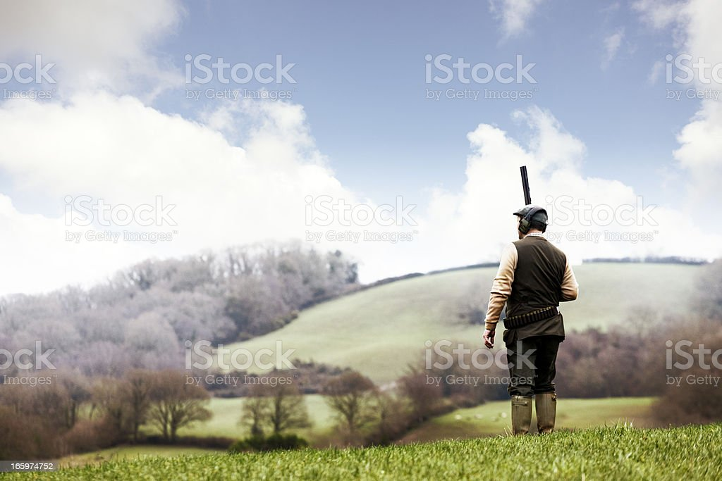 Game shoot stock photo