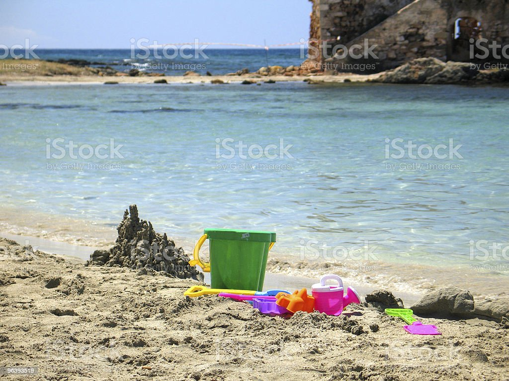 Games on the Beach - Royalty-free Beach Stock Photo