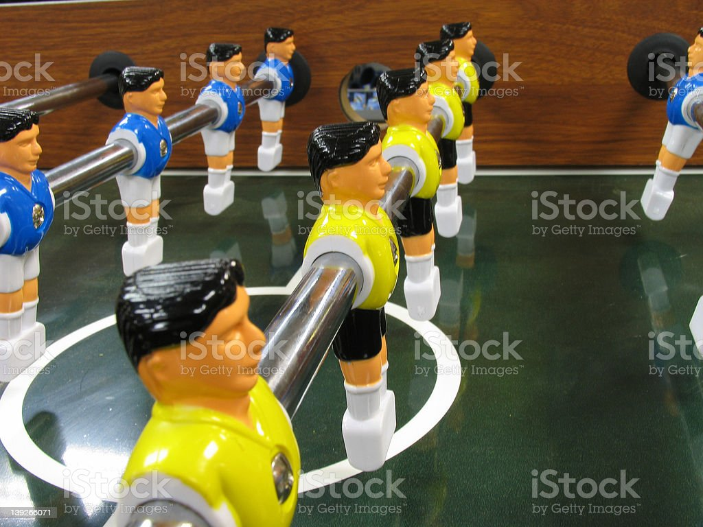 games: soccer table 1 royalty-free stock photo