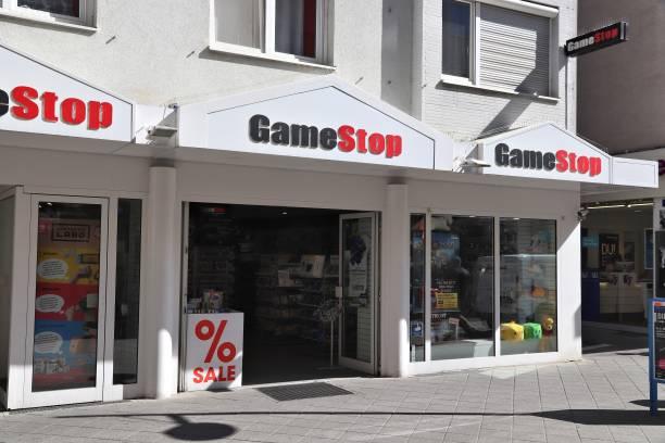 GameStop Germany stock photo