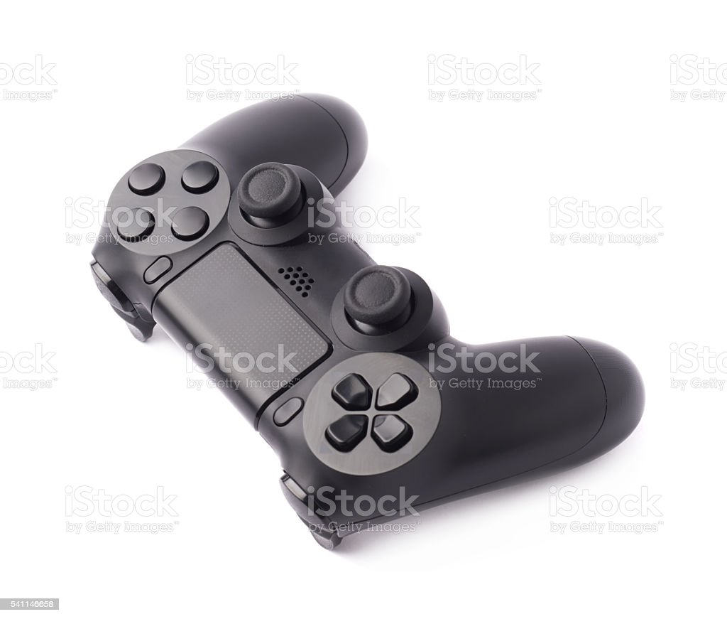 Gaming console controller isolated stock photo