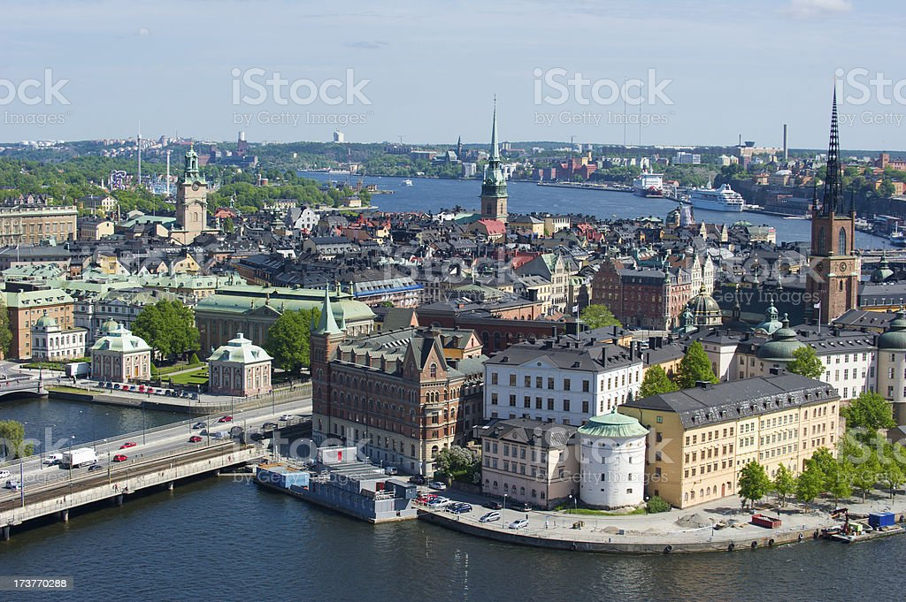 Gamla Stan, Stockholm, Sweden royalty-free stock photo