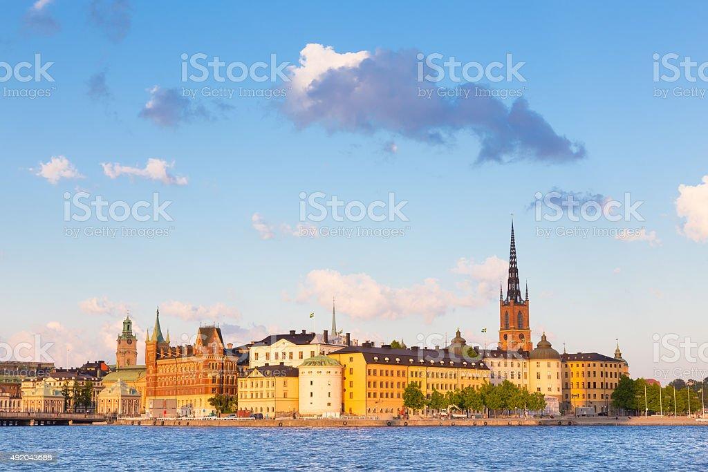 Gamla stan, Stockholm, Schweden, Skandinavien, Europa. – Foto