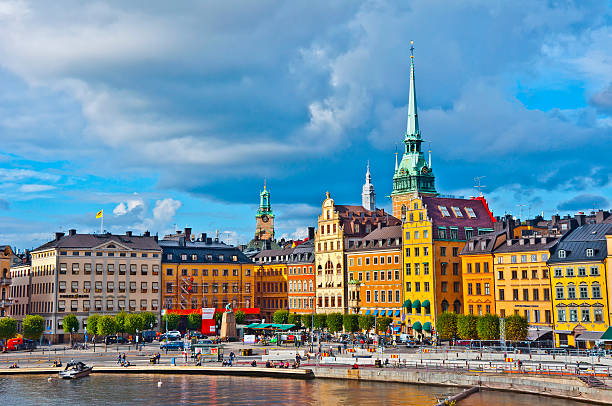 Gamla Stan View, Stockholm, Sweden Gamla Stan View, Stockholm, Sweden stockholm stock pictures, royalty-free photos & images