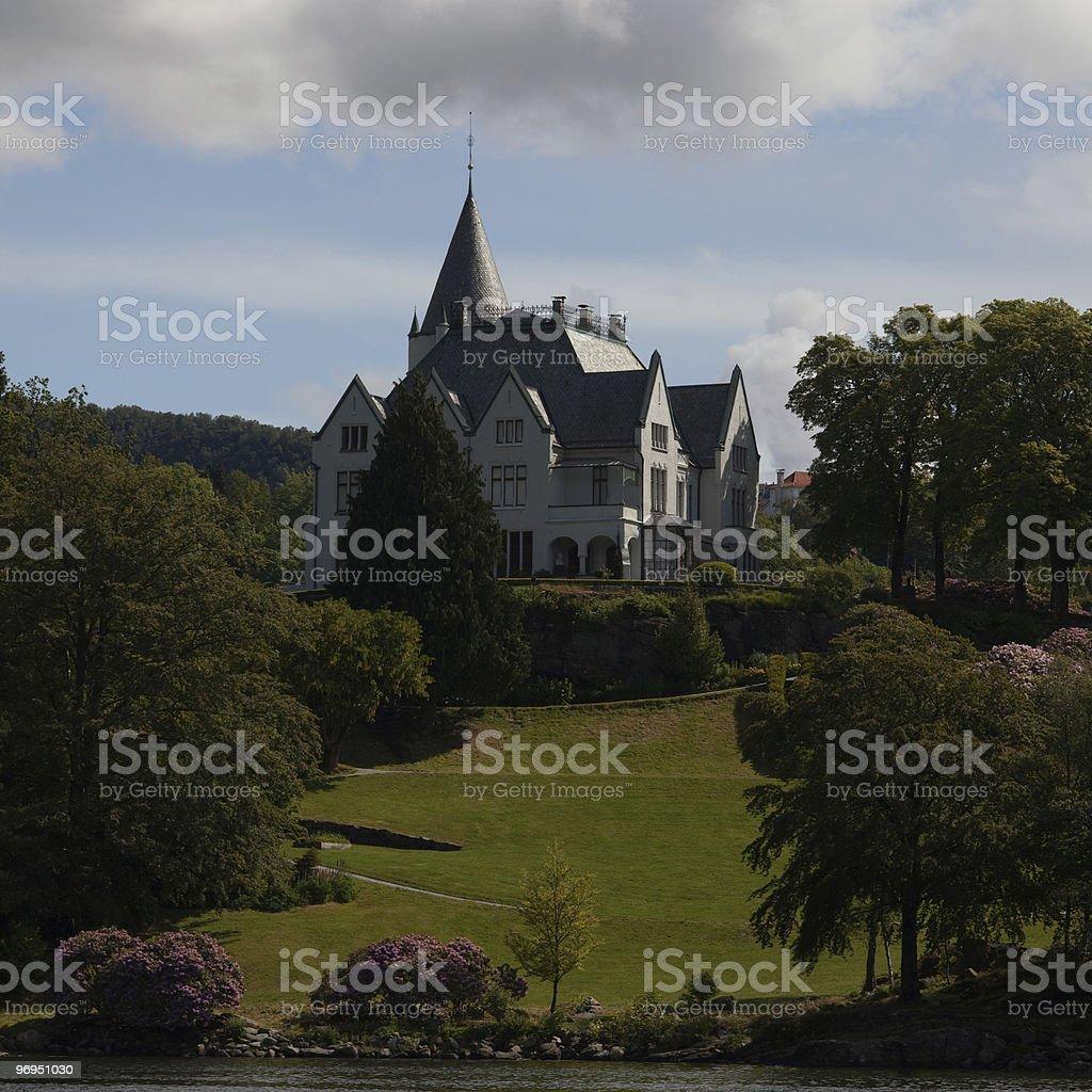 Gamlehaugen in Bergen royalty-free stock photo