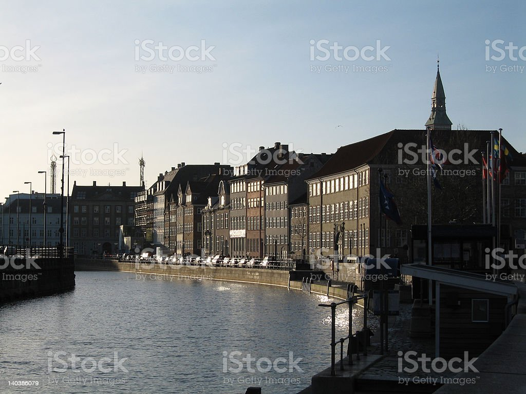Gammel Strand stock photo