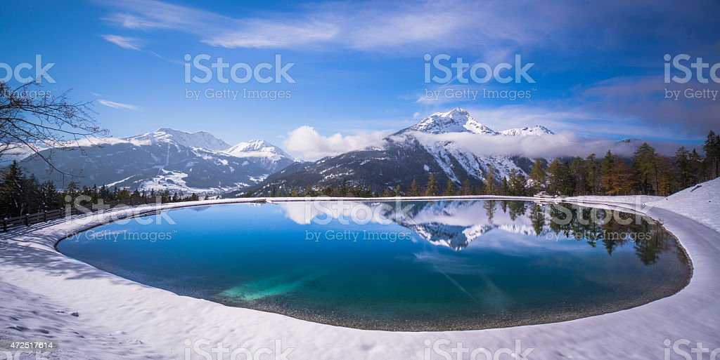 Gamsalp, Ehrwald, Austria stock photo
