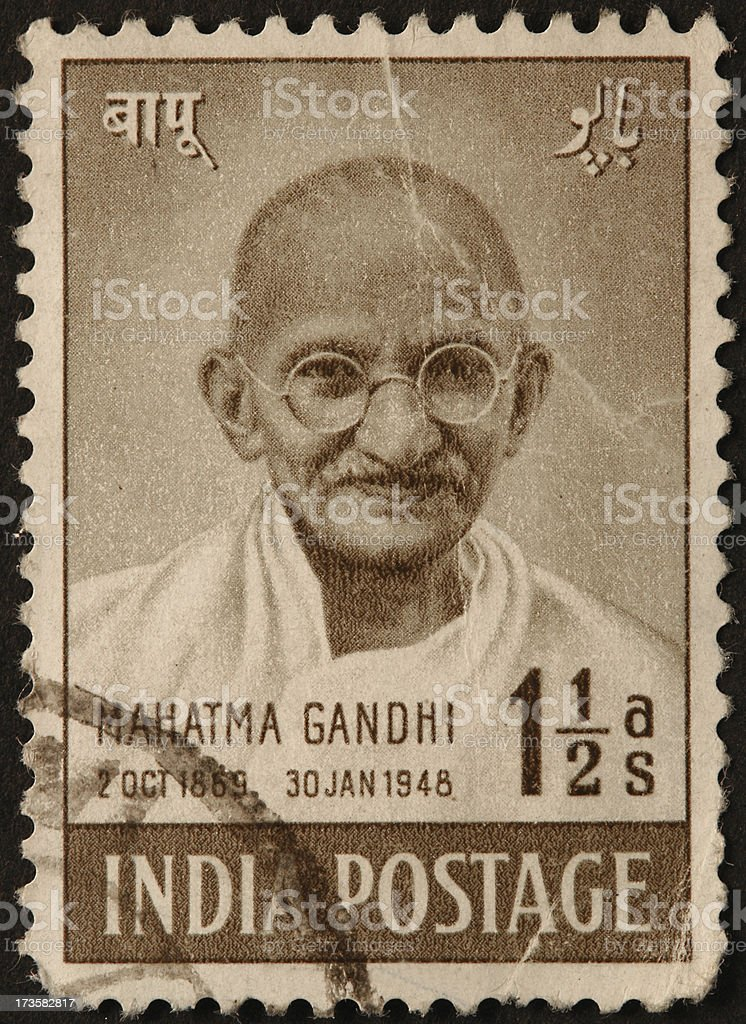 Gandhi royalty-free stock photo