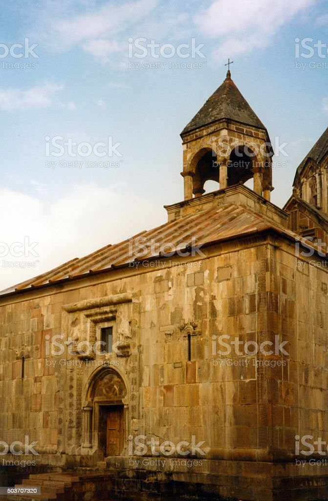 Gandzasar monastery, Nagorno-Karabakh stock photo