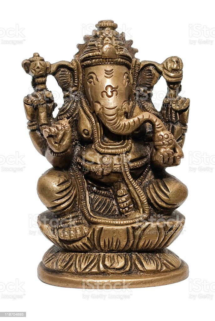 Ganesh - Elephant stock photo