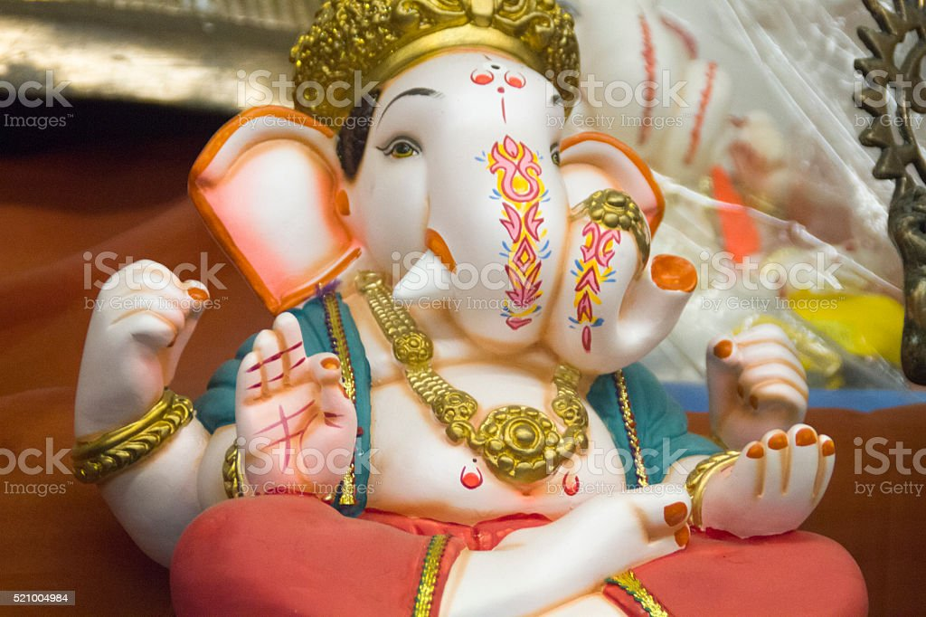 Ganesh Idol stock photo