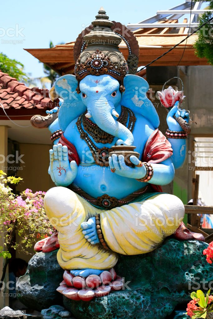 Ganesh Is The God Of India Located In Bali Indonesia Stock Photo - Where is bali located