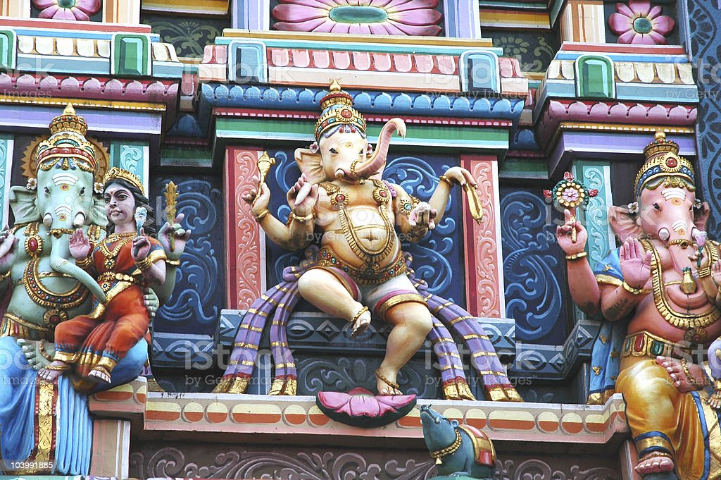 Ganesh Temple royalty-free stock photo
