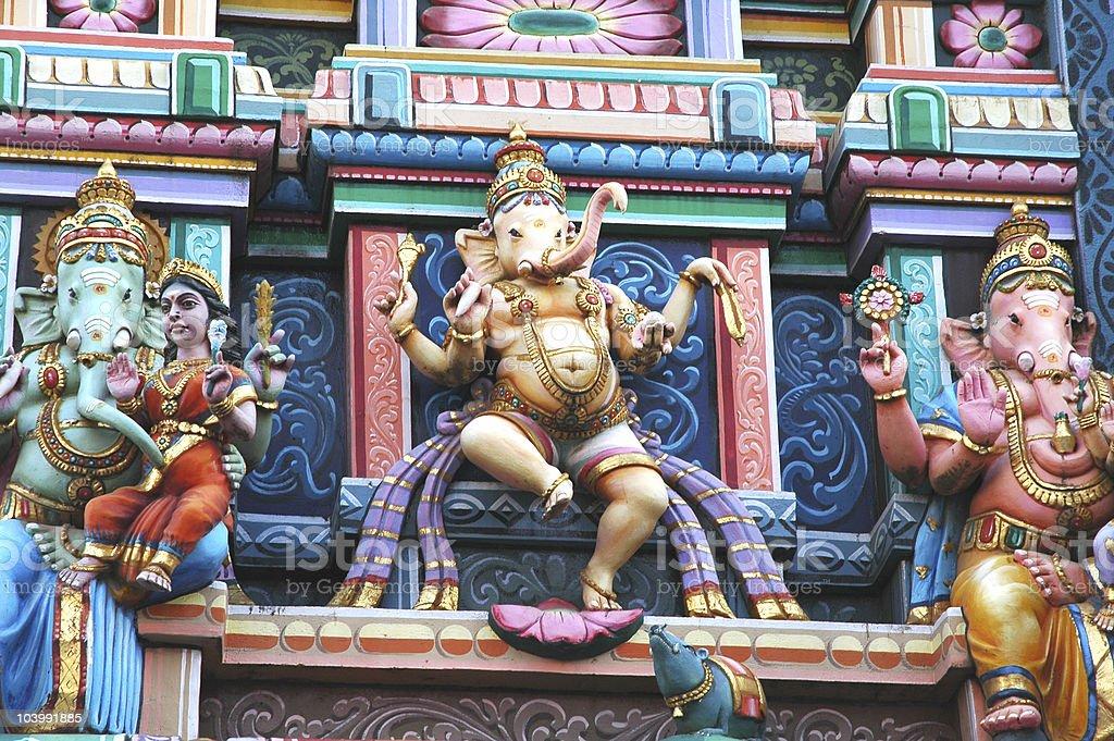 Ganesh Temple stock photo