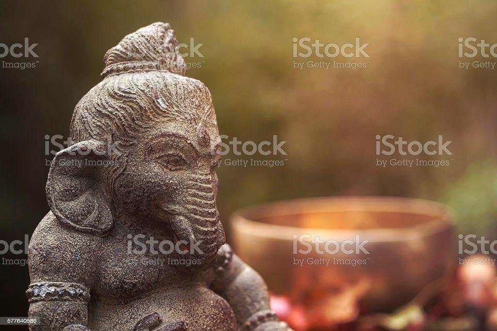 ganesha deity stock photo