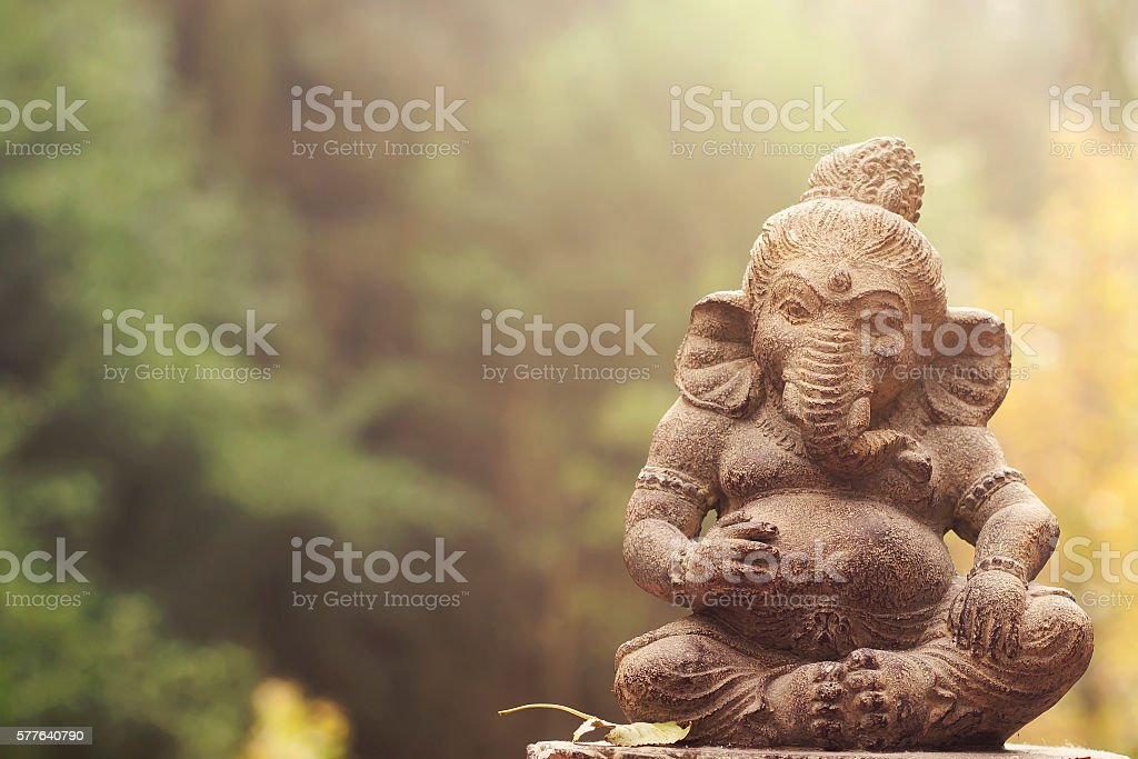 ganesha deity stock photo