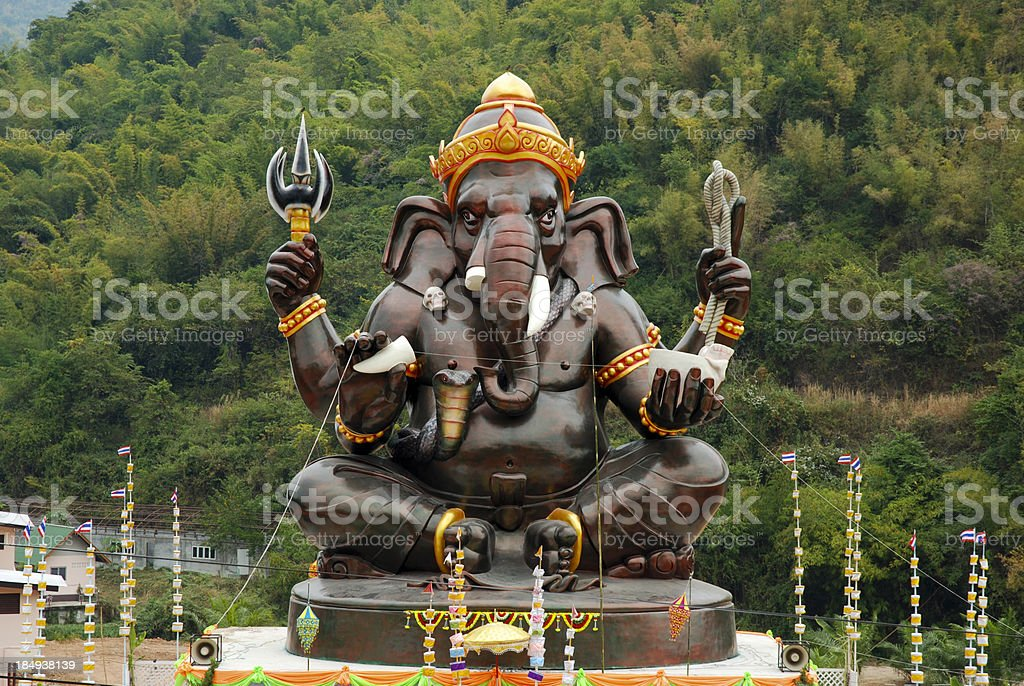 Ganesha. stock photo