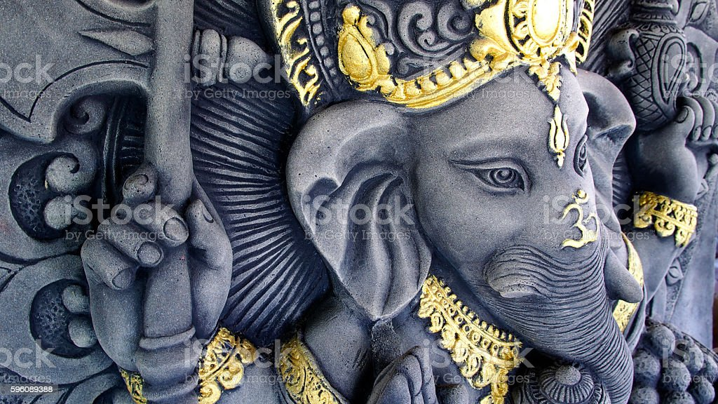 Ganesha Statue royalty-free stock photo