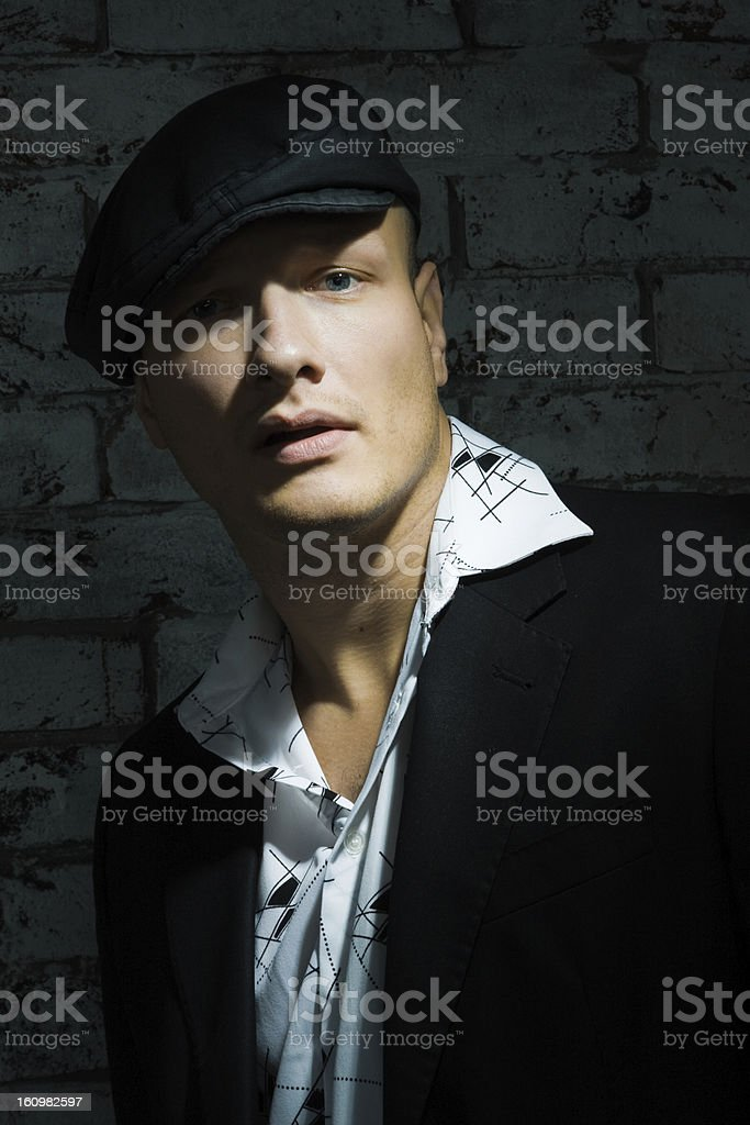 Gang member royalty-free stock photo