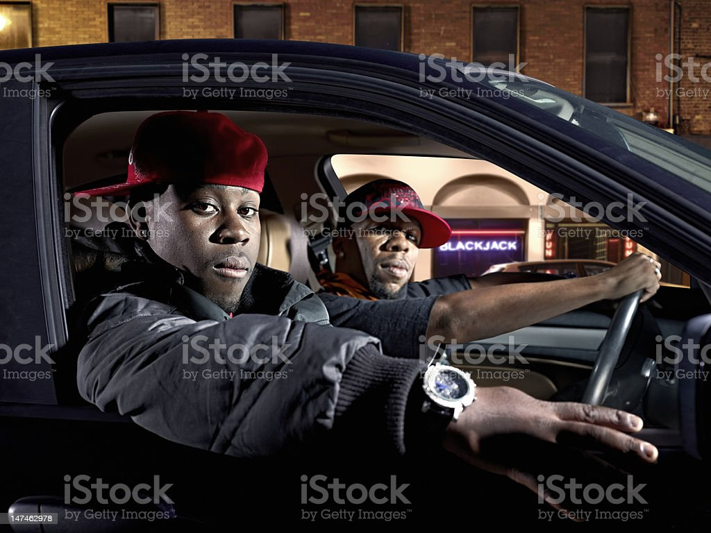 Gang stock photo