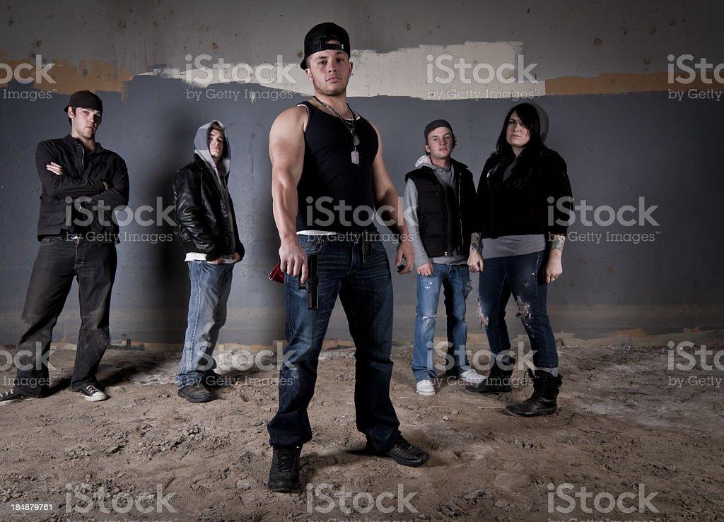 Gang stock photo