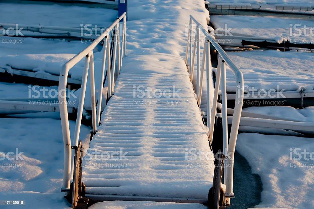 Gangplank. royalty-free stock photo