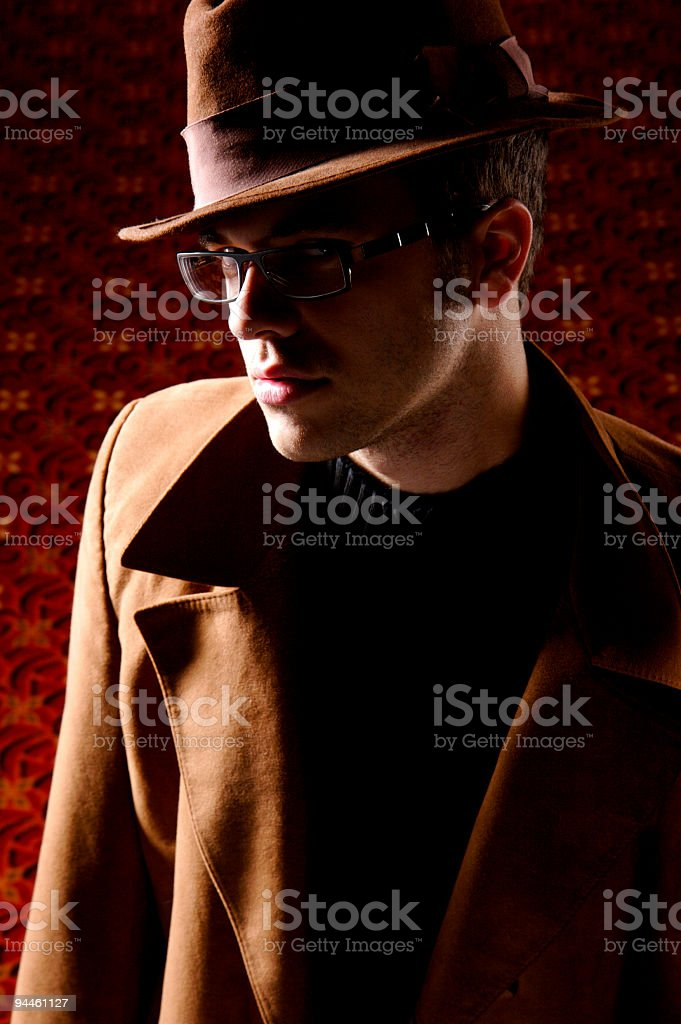 gangster boy royalty-free stock photo