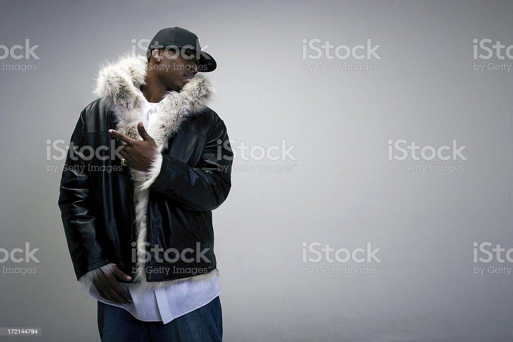 Gangster Fur stock photo