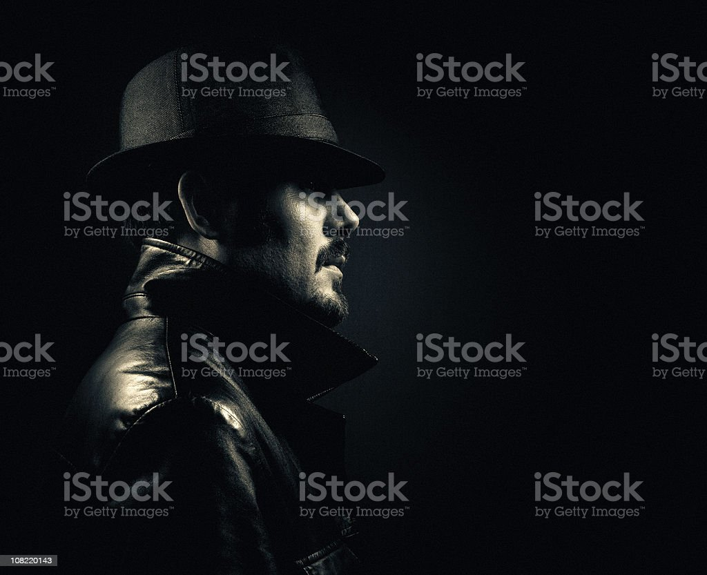 gangster incognito royalty-free stock photo