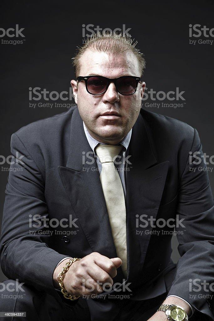 Libre Des En Et Gangster Droit Mafia Costume De Homme Photo b6y7gfY