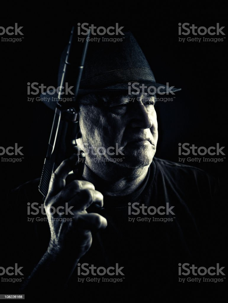 gangster stock photo