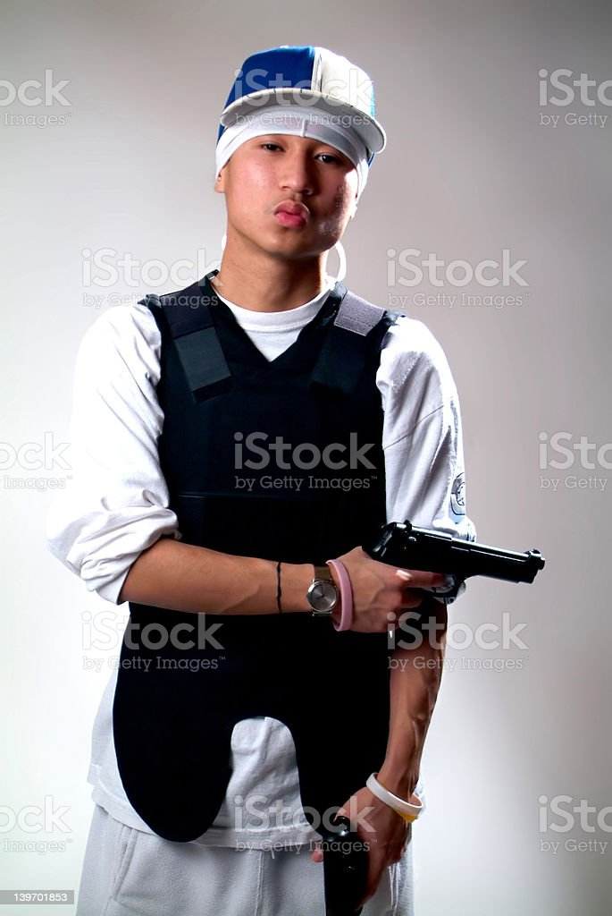 Gangster! royalty-free stock photo