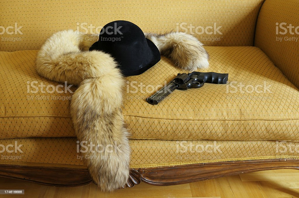 gangster story royalty-free stock photo