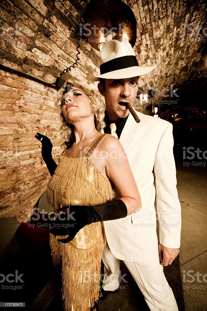 Gangster Style royalty-free stock photo