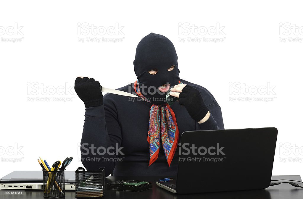Gangster threatens murder by cell phone stock photo