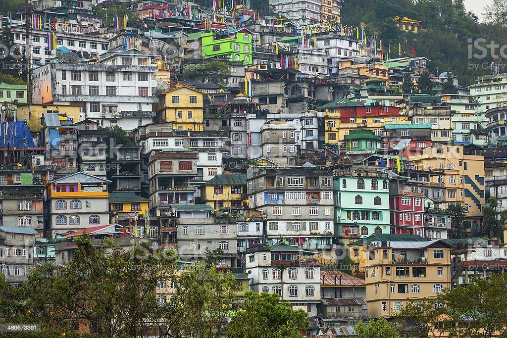 Gangtok stock photo