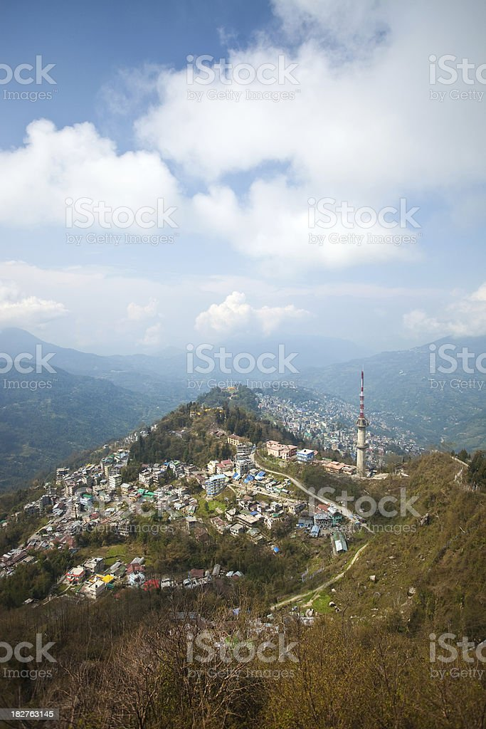 Gangtok, Sikkim, India royalty-free stock photo