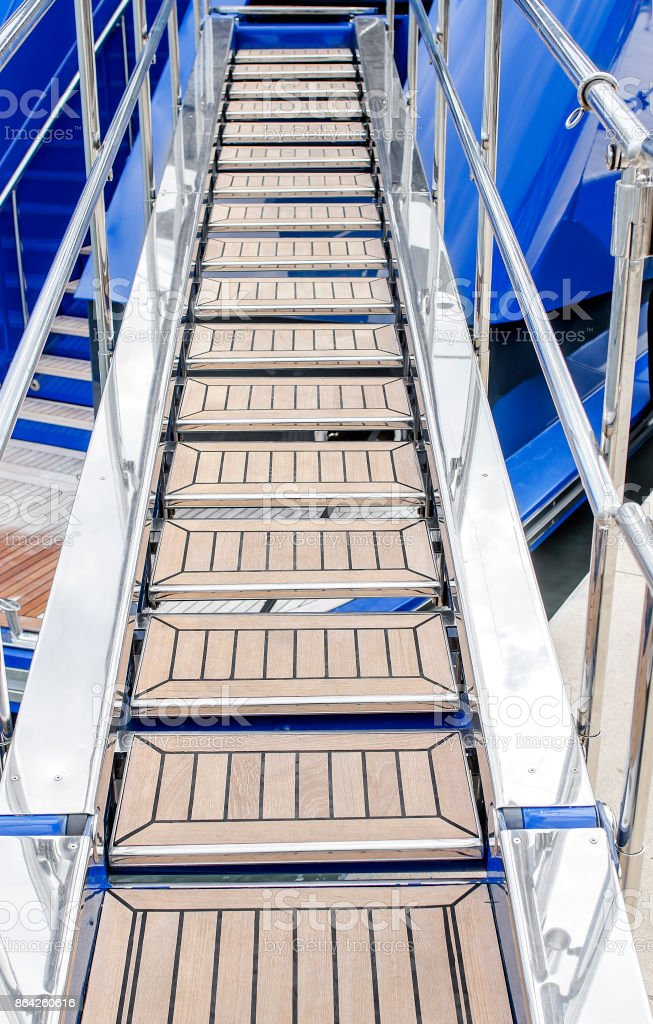 Gangway to the ship. royalty-free stock photo