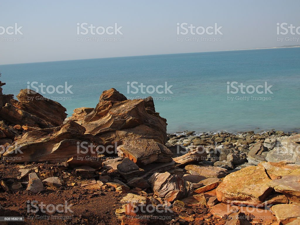 Gantheaume Point, Broome, Western Australia stock photo