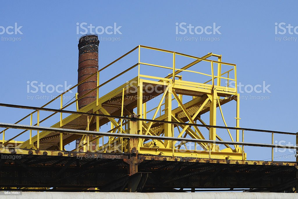 Gantry crane royalty-free stock photo