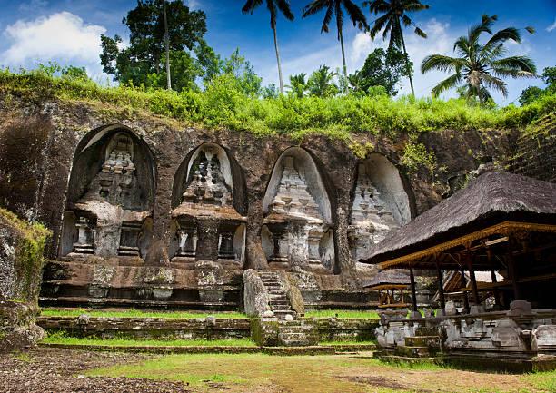 Ganung Kawi Temple. stock photo