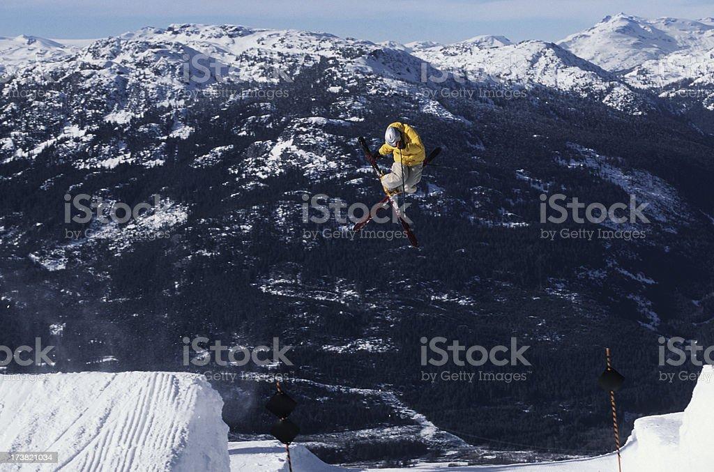 Gap Jump II royalty-free stock photo