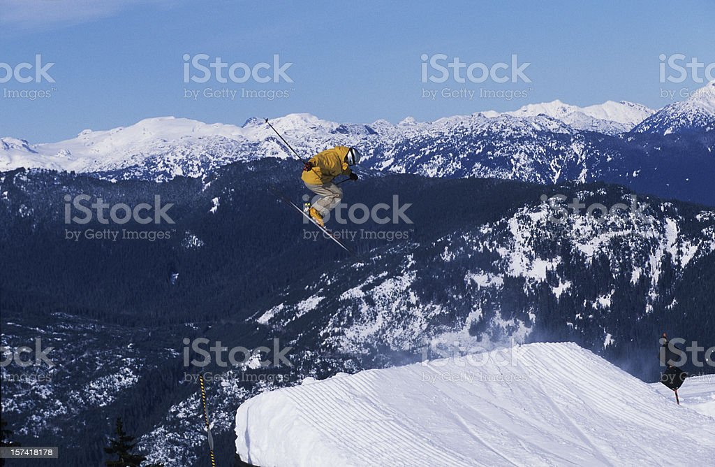 Gap jump III stock photo