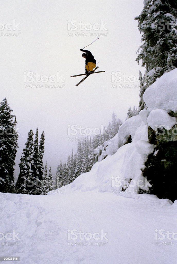 Gap Jump royalty-free stock photo