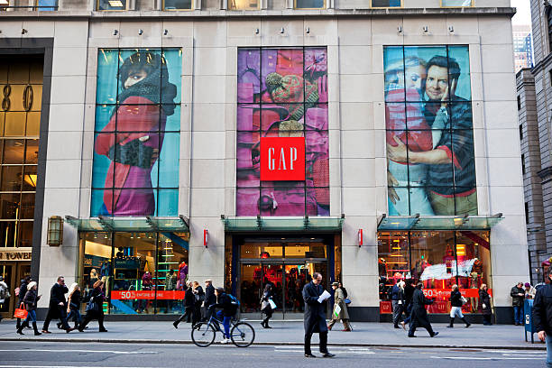 Gap store New York City stock photo
