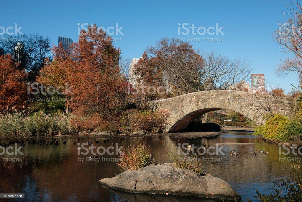Gapstow Bridge stock photo