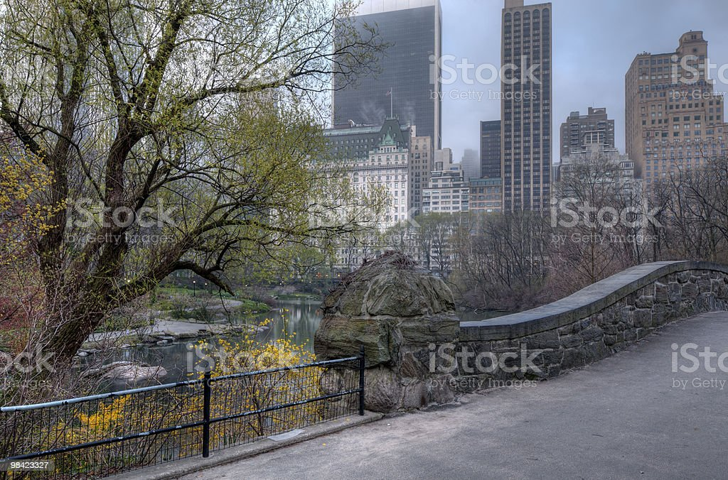 Gapstow bridge royalty-free stock photo